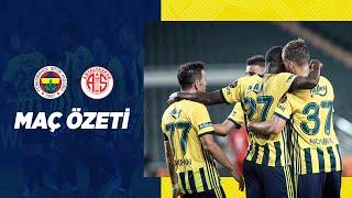 MAÇ ÖZETİ: Fenerbahçe 4-0 FTA Antalyaspor #TLOLCup #MatchPR