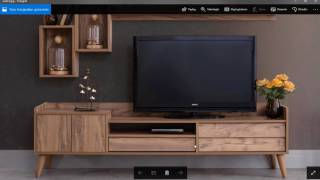 3Ds Max - Editable Spline ile TV Ünitesi Modelleme 4