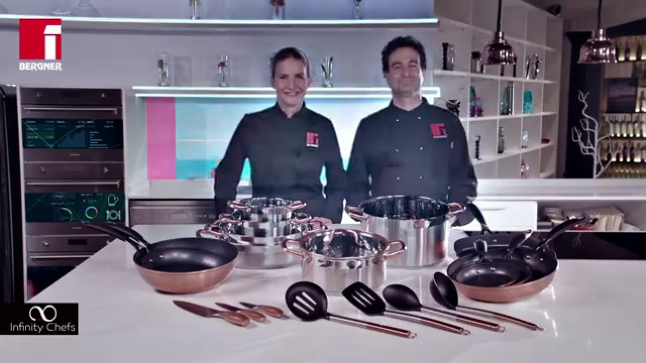 Copper collection by infinity chefs with pepe rodriguez - Sartenes infinity chefs ...