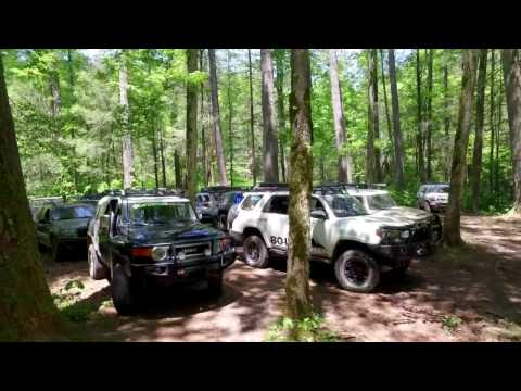 Peach State Overland rides with Earthbound Overland