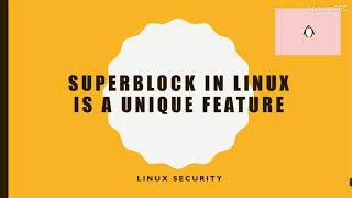 Why Linux is secure  - One of the best reason.