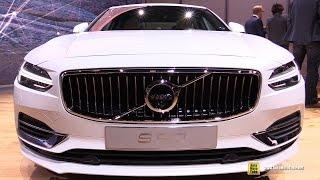 2017 Volvo S90 T8 Inscription - Exterior and Interior Walkaround - 2016 Detroit Auto Show