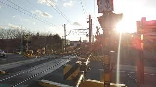 【211系の日‼️⑪】普通列車熱海行き(編成不明) 浜田踏切通過‼️