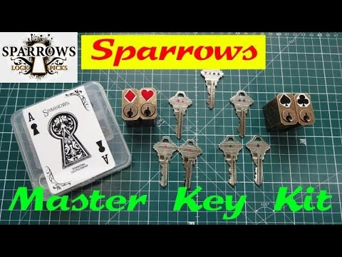 (1199) Review: Sparrows MASTER KEY Training Kit