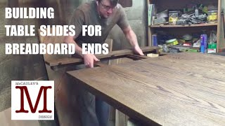 Building Table Slides For Breadboard Ends 014