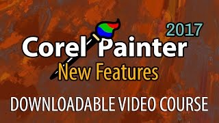 Corel Painter 2017 New Features - Downloadable Course Preview (Welcome Screen & Layouts)