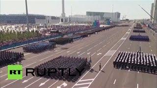 В Астане прошел самый масштабный в истории Казахстана военный парад