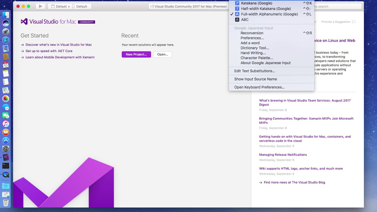 Visual Studio for Mac 7 2 0 540 & Mono Framework 5 4 0 167 (2)