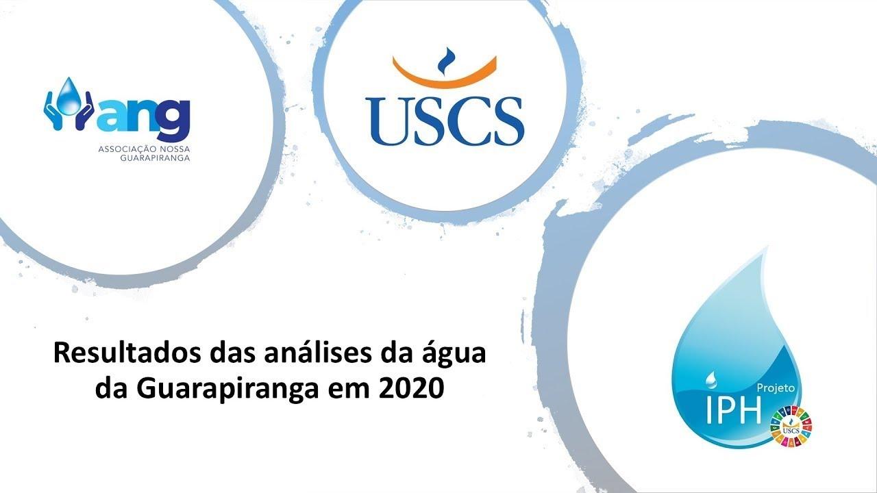 Resultados das análises da água da Guarapiranga em 2020