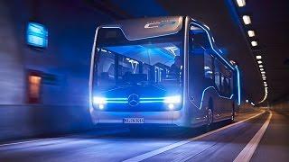 حافلة مرسيدس المستقبلية ذاتية القيادة بالكامل
