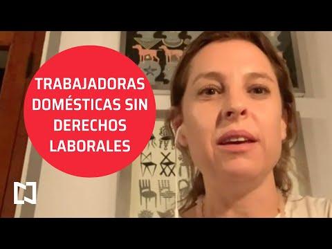 Trabajadoras domésticas sin derechos laborales - En Punto
