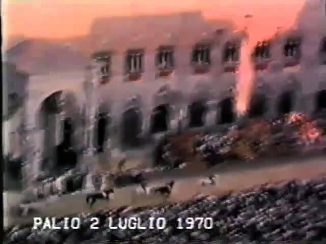 Palio 2 luglio 1970