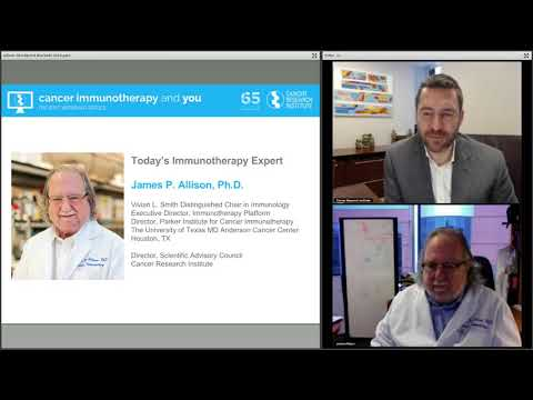 Taking the Brakes Off the Immune System, with Dr. James P. Allison
