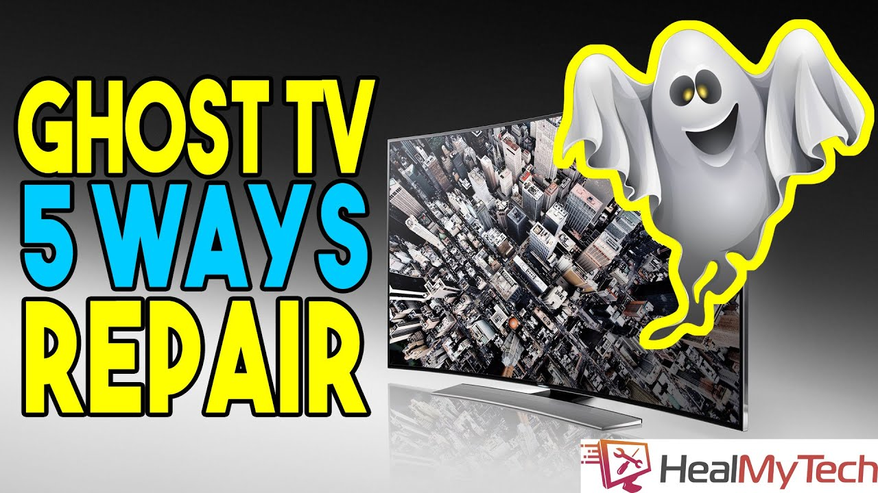 Spooky Ghost TV | 5 Ways To Fix TV Volume Going Up And Down By Itself