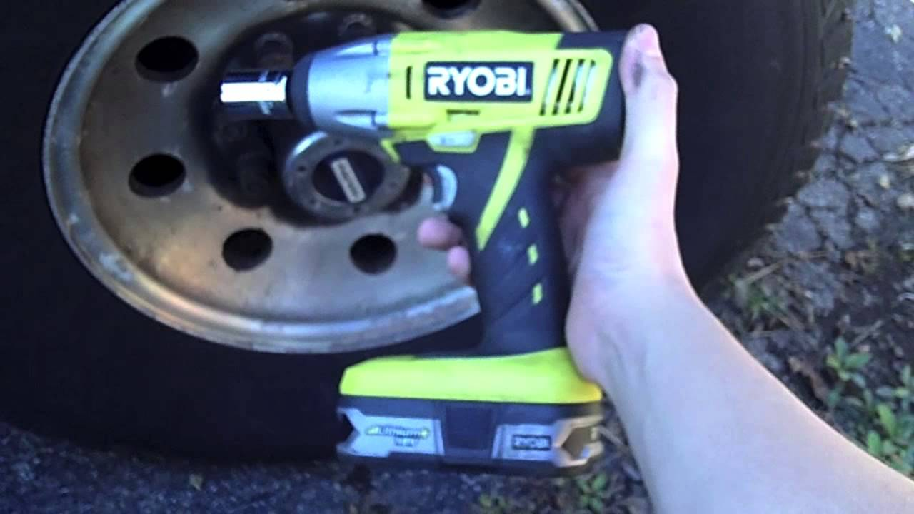 Ryobi One 1 2 Quot Cordless Impact Driver Tool Review Youtube