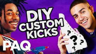Customising £50 Sneakers in 3 Hours (DIY challenge!)