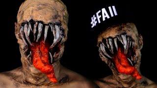 Monstruo Reptador Maquillaje CoD Black Ops / Zombie Monster Alien Halloween Makeup