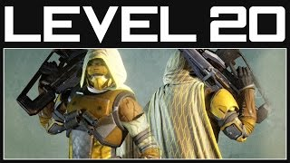 Destiny level 20 gameplay - heroics, exotic gear and more