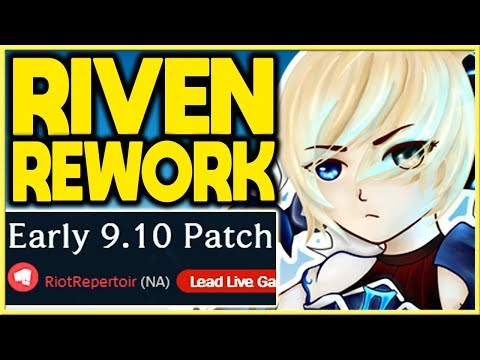 Riven will receive a Rework. (Riven change)