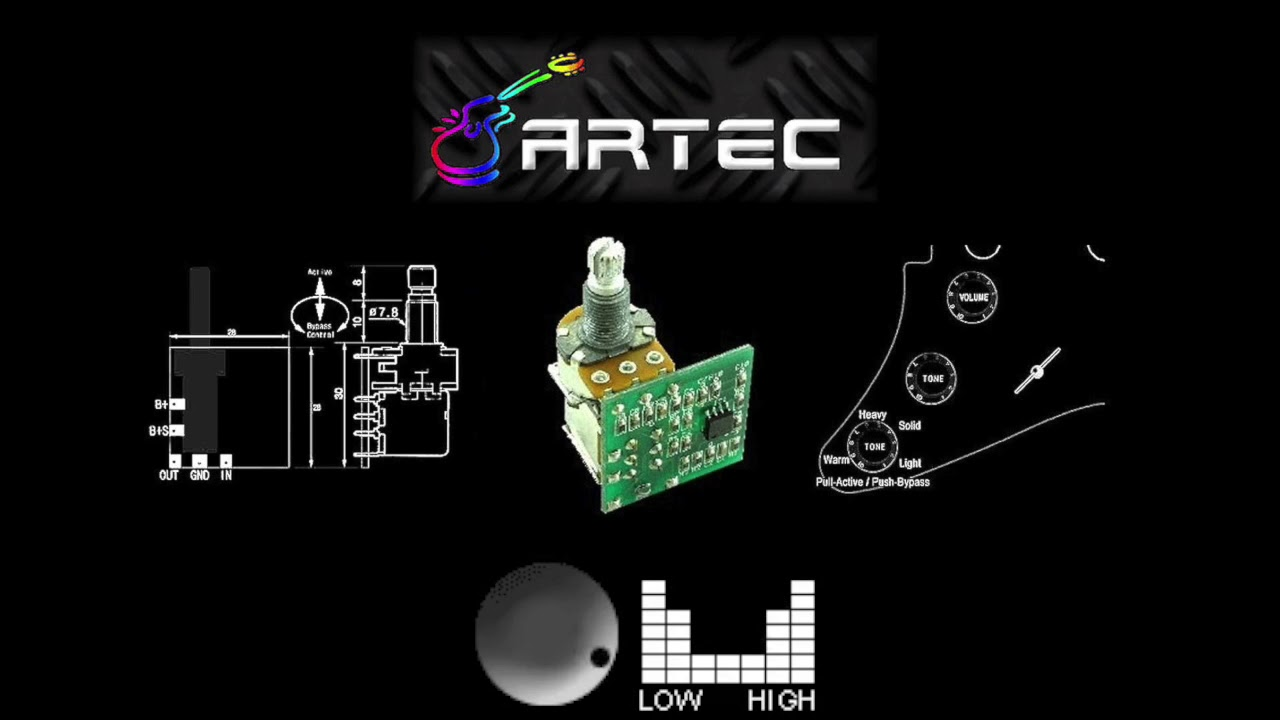 Artec Active Mod Unit Exp Tone Expander Youtube Jackson Wiring Diagram