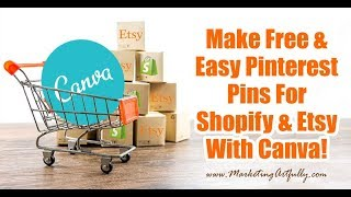 Canva Tutorial   How To Make Pinterest Pins For Etsy And Shopify (Two Examples)