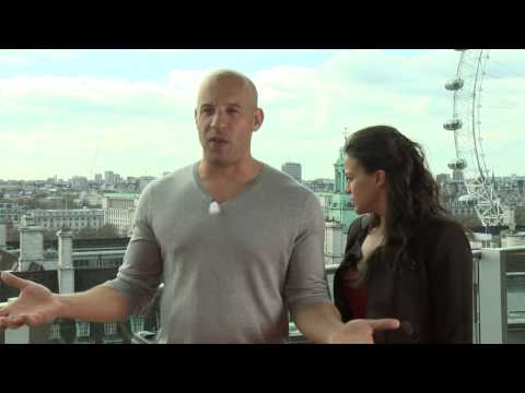 Fast & Furious 6: Vin Diesel & Michelle Rodriguez Interview Travel Video