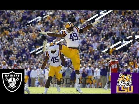 II Arden Key College Career Highlights II Oakland Raiders 3rd Round Selection
