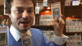 The Dark World of Magic Card GRADING...Why Stores Grade PSA or BGS