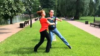 Хастл. Парные танцы. Обучение. Социальные танцы.
