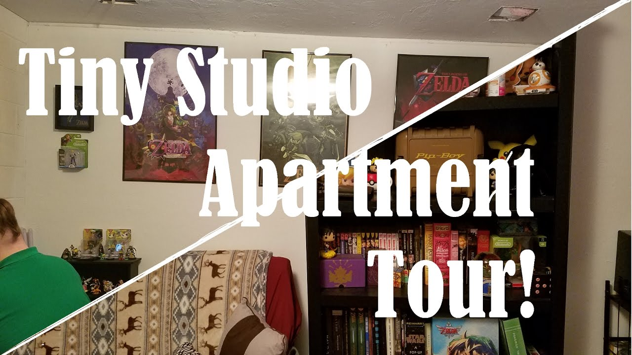 Studio Apartment Tour tiny studio apartment tour | 250 square feet - youtube