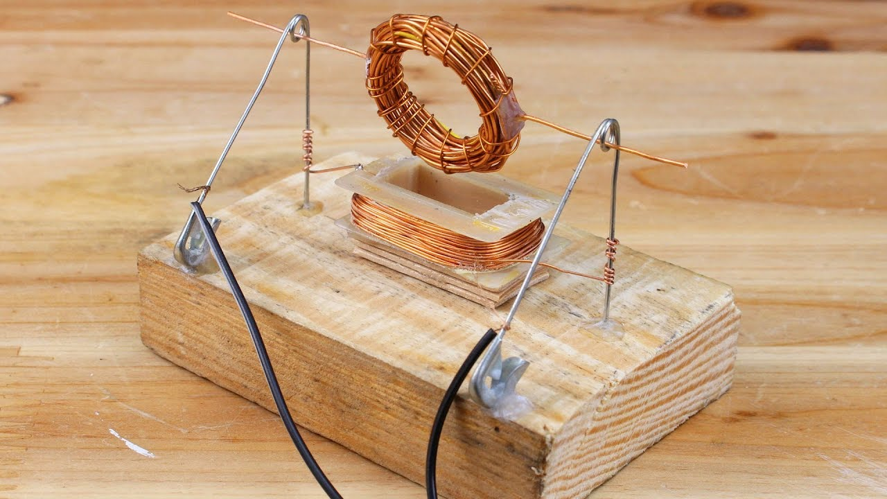 How to Make Simple Electric Motor witn No Magnet