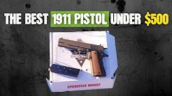 """SPRINGFIELD ARMORY 1911 DEFENDER 45 ACP 5"""" PISTOL   Best 1911 Pistol Under $500"""