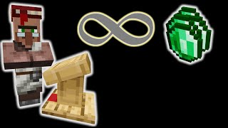 New Infinite Emeralds Trick using 1 Item! | 1.15.2-1.16.3+ Minecraft