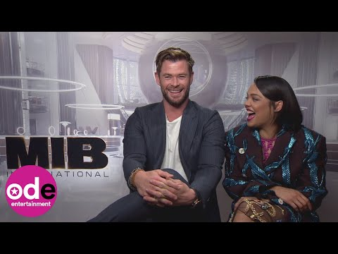 MIB International: Chris Hemsworth's neuralyzing wish