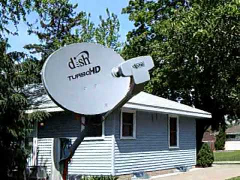 Never Install A Satellite Dish On A Wood Pole Youtube