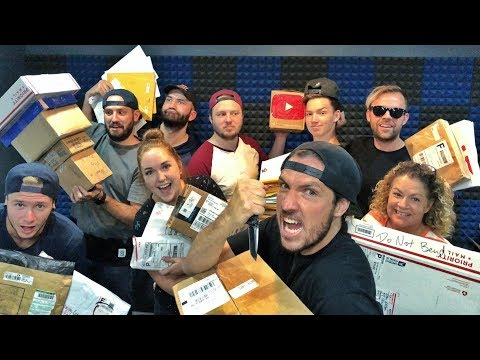 Opening 100+ Random Boxes!!  WHATS INSIDE THEM?