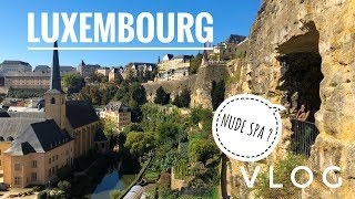 One of the World's Most Expensive Countries for £20   Luxembourg Vlog 2018