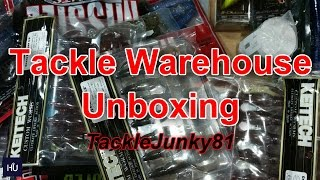 Tackle Warehouse Unboxing | Huge Tackle Order (TackleJunky81)