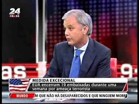 Tiago Moreira de Sá comenta na TVI24 o encerramento de embaixadas norte-americanas