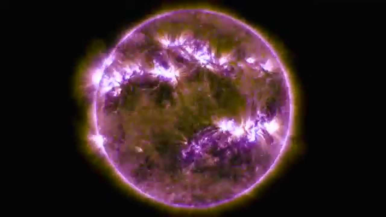 Nasa 5 Year Time Lapse Of The Sun Youtube