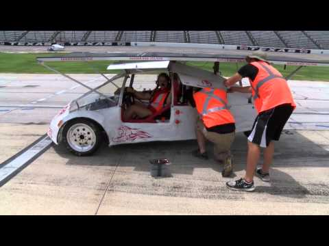 2015 Solar Car Challenge at Texas Motor Speedway