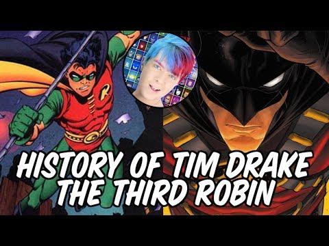 History of Tim Drake - The Third Robin