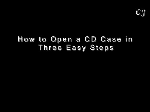 3 Easy Steps - How to Unwrap a CD Jewel Case