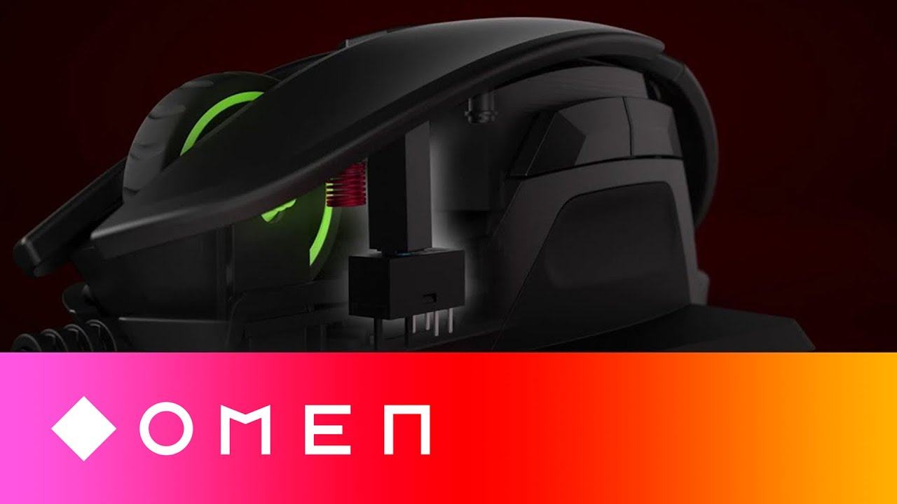 Omen Reactor 3x Faster Optical Mechanical Gaming Mouse Youtube