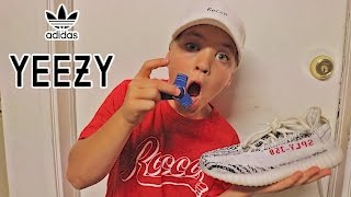 1000MPH FIDGET SPINNER VS REAL YEEZYS!