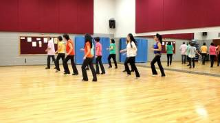 Jump To The Rhythm - Line Dance (Dance & Teach in English & 中文)