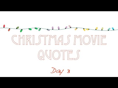Christmas Movie Quote Trivia DAY 3