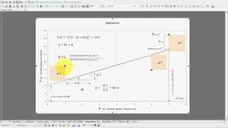 SPSS Video-Seminar #  Teil 39: Inferenzstatistik -- lineare Regression Erläuterung Verfahren