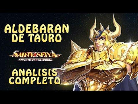 ALDEBARAN DE TAURO! ANALISIS COMPLETO! GREATOO HOORRNN!! Saint Seiya Awakening