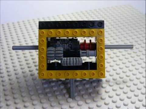 Simple Lego Locking Differential Youtube